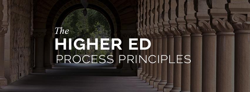 Higher Ed Process Principles