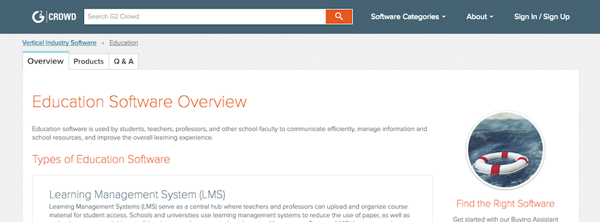 Higher Ed IT product reviews