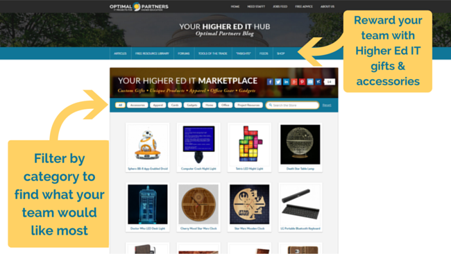 Higher Ed IT Products