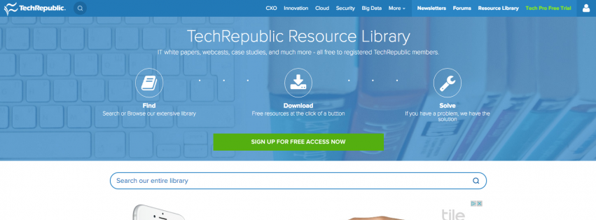 TechRepublic Resource Library